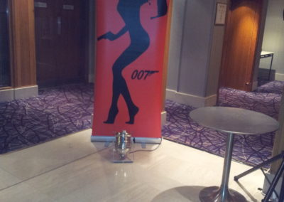 Bond girl Pop up