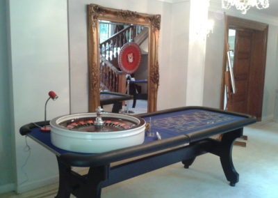 Roulette table Greyfriars House Guildford