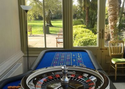 Roulette table Hampton Court House