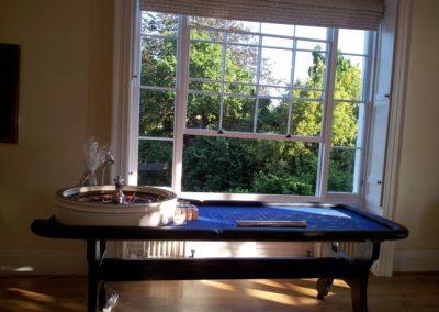 Roulette table Pembroke Lodge