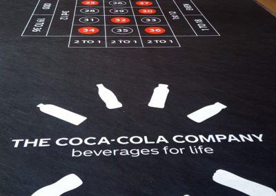 Coca Cola Tablecloth
